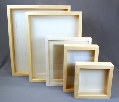 Box or Shadow Frames by Queens Park Picture Framers | Worldy Wicked ...